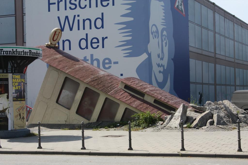 Метро Франкфурт Германия