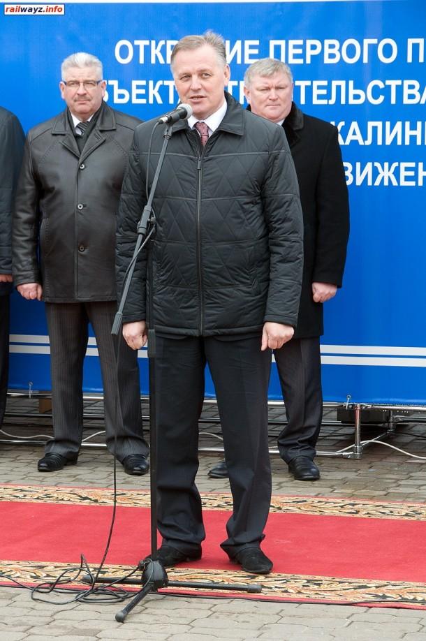 Выступление заместителя председателя Могилёвского облисполкома А.Н. Черного