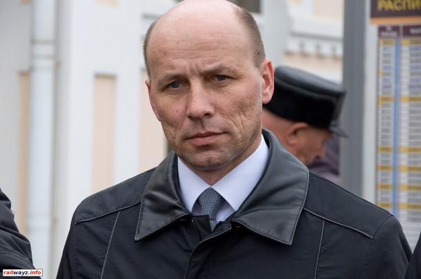 Начальник Белорусской железной дороги Владимир Михайлович Морозов
