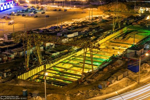 Строительство участка Петровщина-Малиновка. Апрель 2013 г.: пуск-2013 – надежд все меньше
