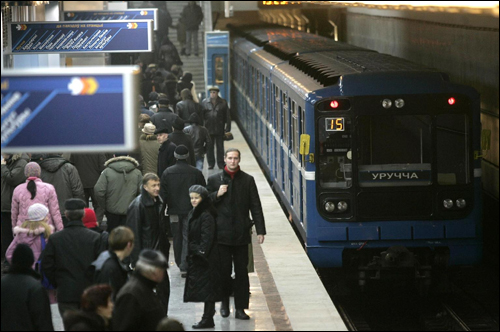 Служебное помещение метрополитена