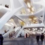 станция метро из золота