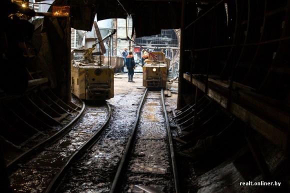 Выход из тоннеля метро