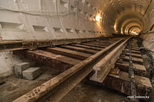 строящейся тоннель метро