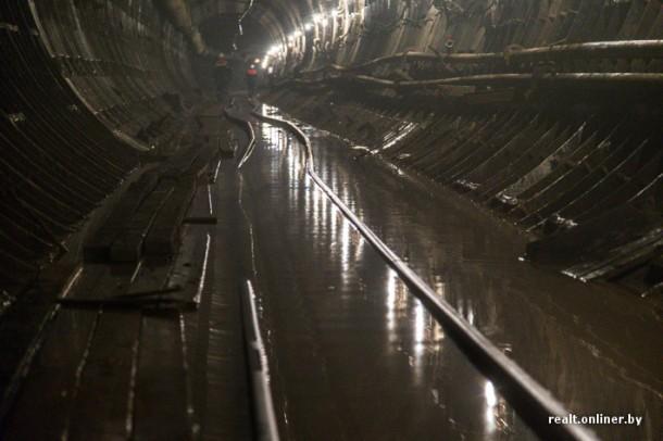 затопленный тоннель метро