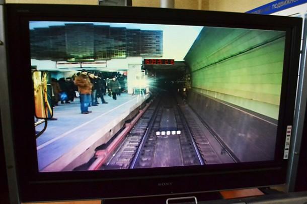 Монитор тренажёра метро