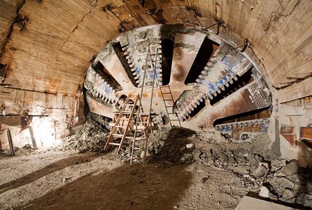 Проходческий щит третья линия минского метро