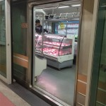 продажа колбасы в сеульском метро