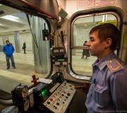 машинист Московского метрополитена