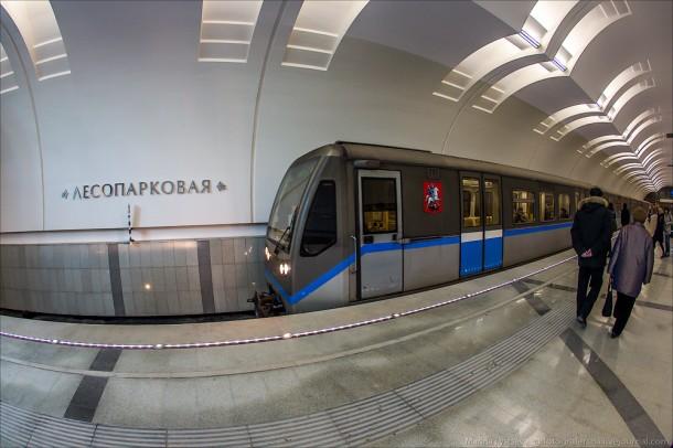 Русич на станции Лесопарковая