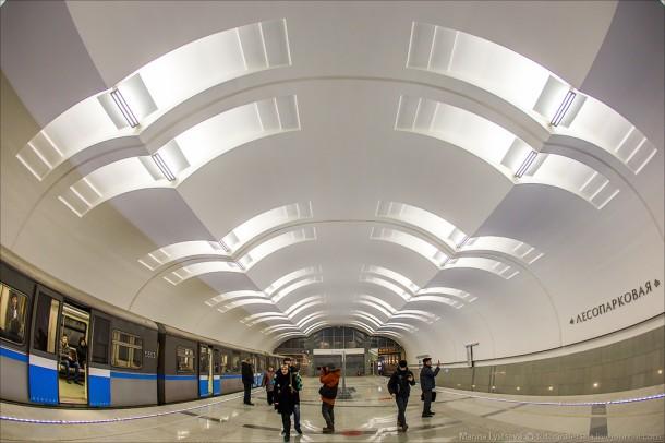 Станция Лесопарковая
