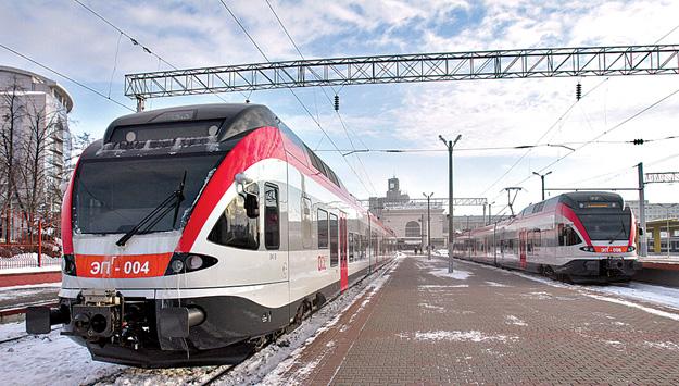 Городская электричка Минск