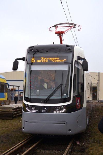 польский трамвай PESA