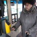 Турникет в автобусе Москва