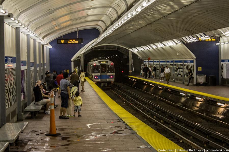 Бостонский метрополитен