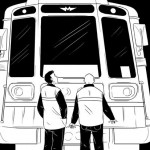 Рисунок поезда метро