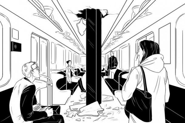 Свая пробила тоннель метро