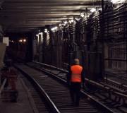 Тоннельный обходчик в метро