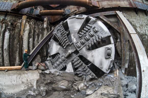 Механизированный щит для строительства тоннелей метро