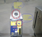 Валидатор на турникетах в минском метро