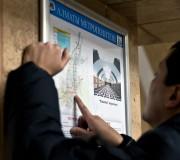 Схема Алматинского метрополитена