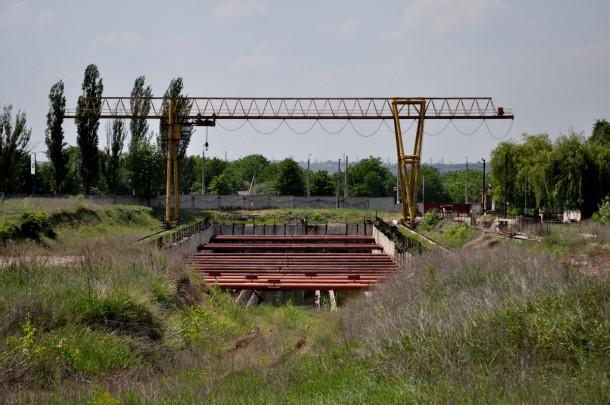 строящаяся станция донецкого метро