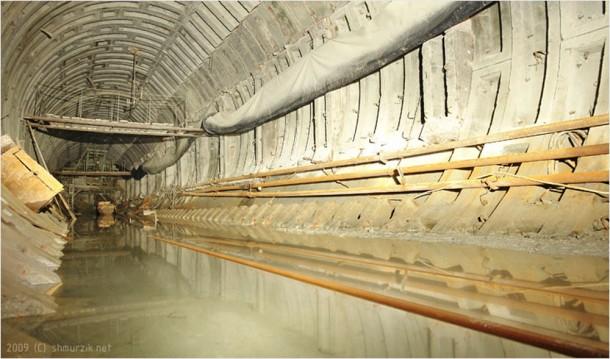 тоннель донецкого метро