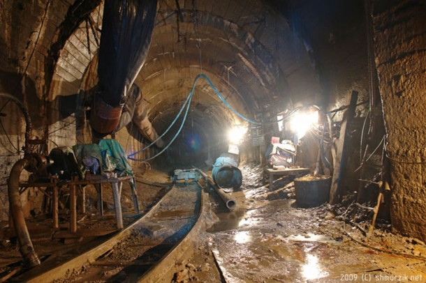 строительство донецкого метро остановили