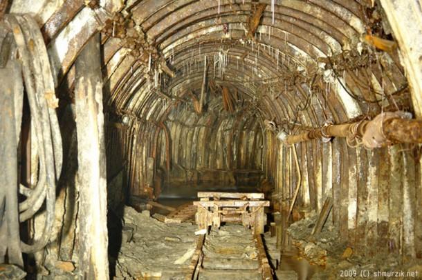 заброшенный тоннель донецкого метро