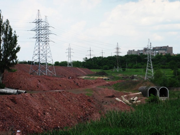 линии электропередач Донецк