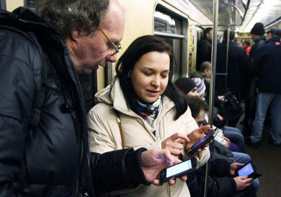 Мобильная связь в метро