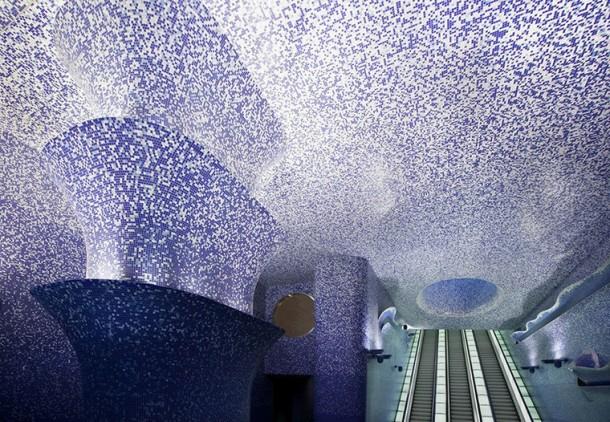Станция Толедо Неаполитанского метро