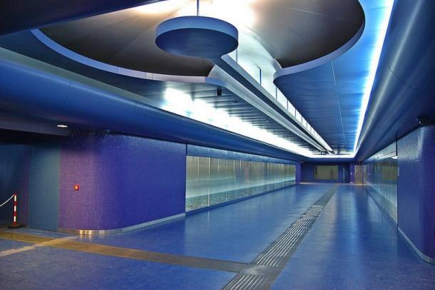 декор станции метро Толедо