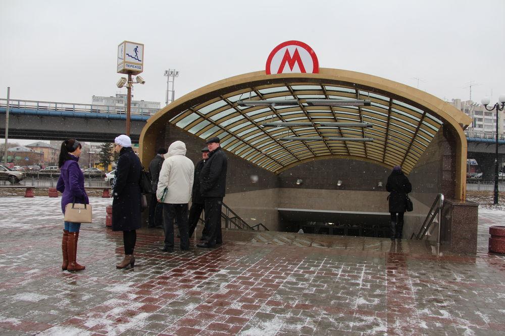 Вход на станцию Библиотека им.Пушкина