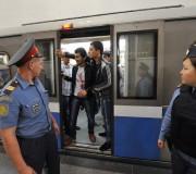Полиция в московском метро