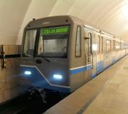 Состав 81-760 на станции Тимирязевская