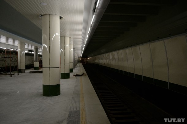 платформа станции Малиновка