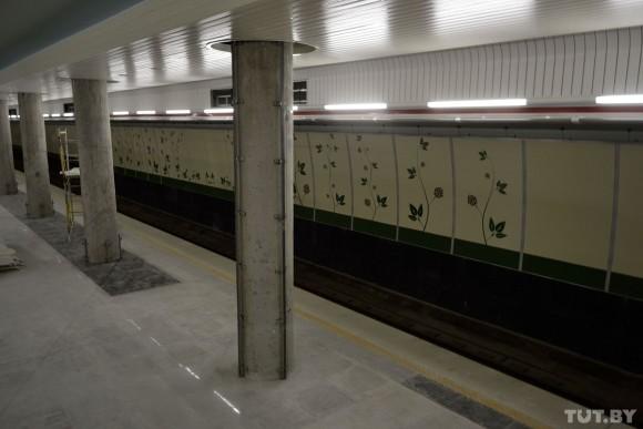 Колоннада на станции Малиновка