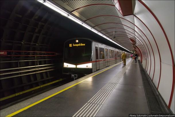 состав венского метро