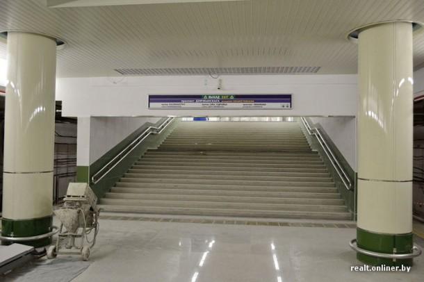 Выход со станции метро