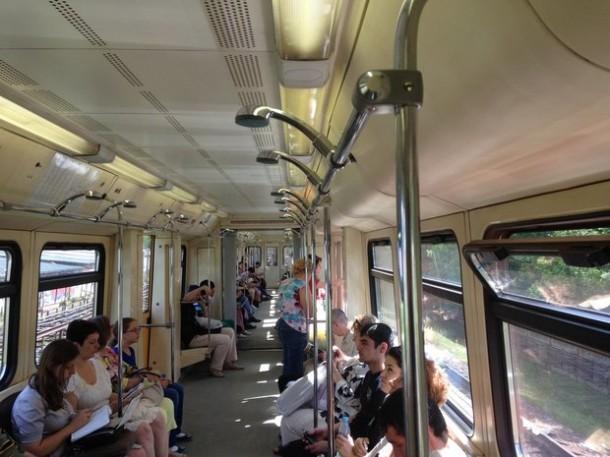 Душ в метро