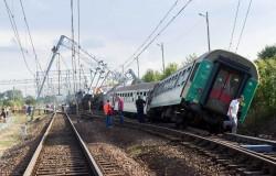 поезд сошел с рельс в Болгарии