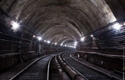 двухпутный тоннель в Московском метрополитене