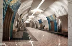рендеры новых станций Питерского метрополитена