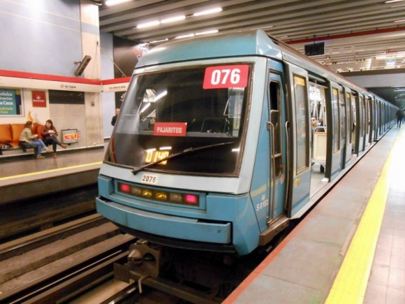 Метрополитен города Сантьяго Чили