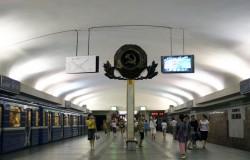 Станция метро Площадь Ленина в Минске