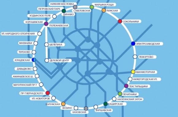 Второе кольцо Московского метрополитена