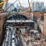 Строительство московского метро