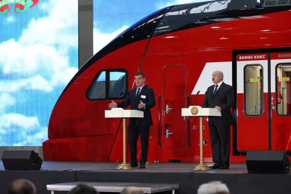 Петер Шпулер и Александр Лукашенко