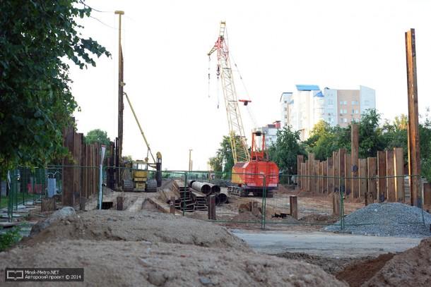 Сроительство третьей линии минского метро